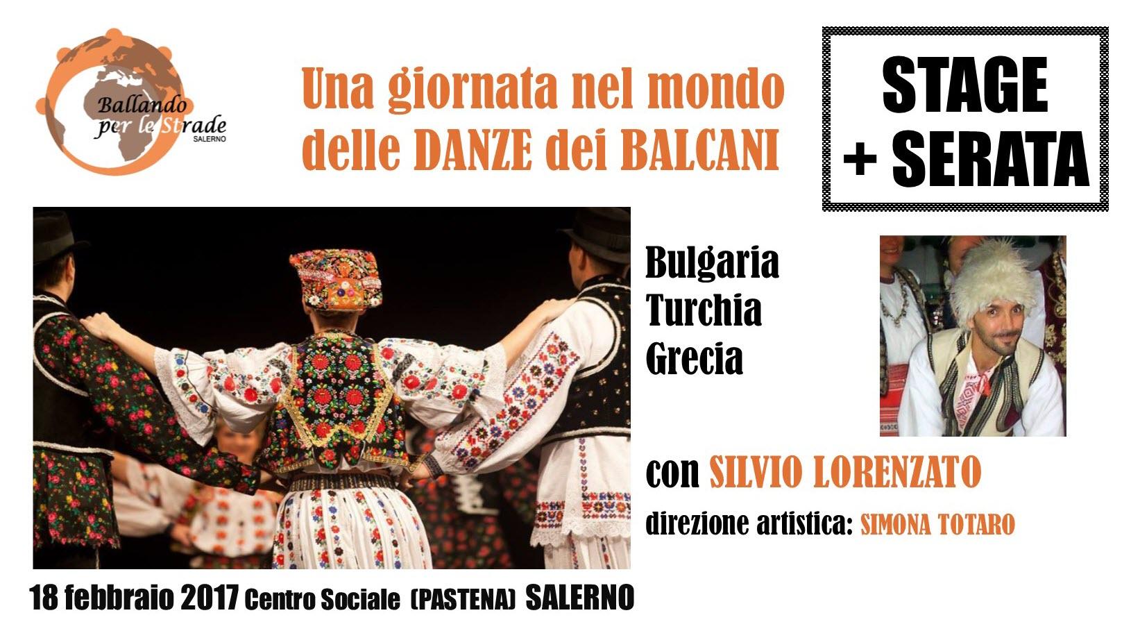stage giornata danze dei balcani ballando per le strade salerno